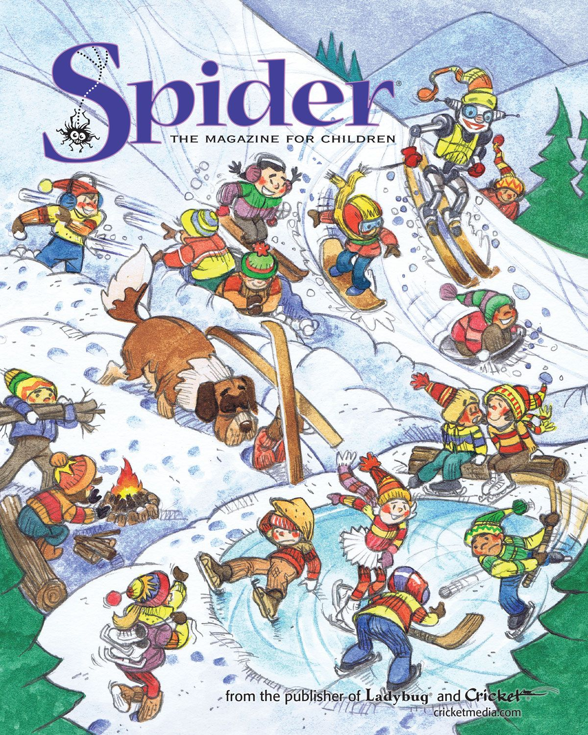 spider magazine for kids ages 6 9 january 2016 http shop