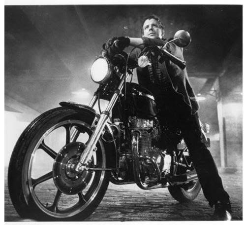 the motorcycle boy reigns.