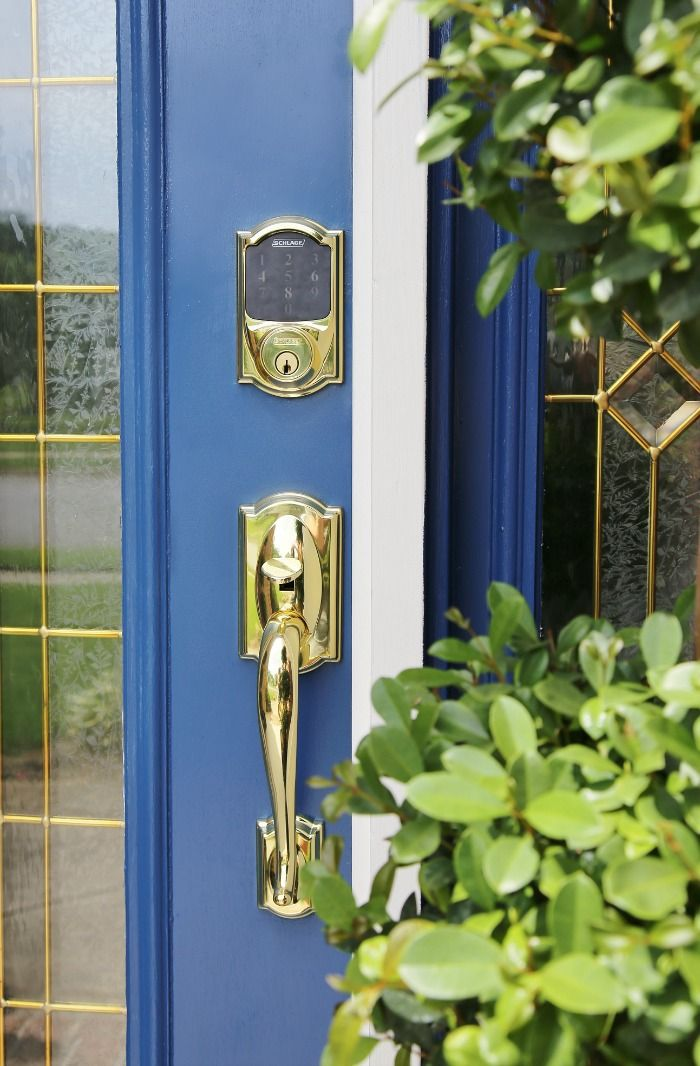 4 Easy Ways To Refresh Your Front Door Pinterest Electronic