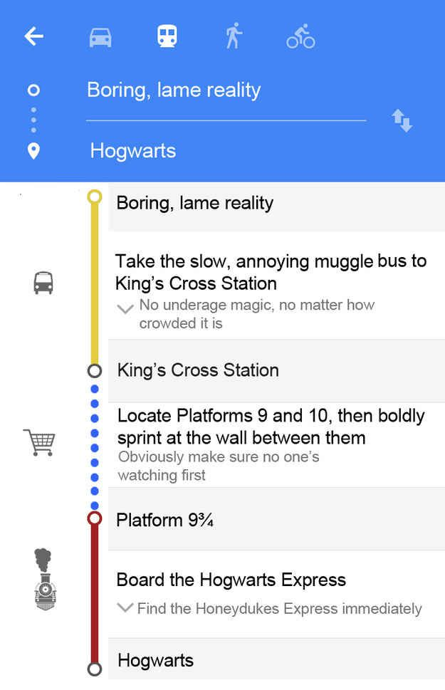 7 fictional lands that should have google maps harry potter the wizarding world harry potter gumiabroncs Gallery