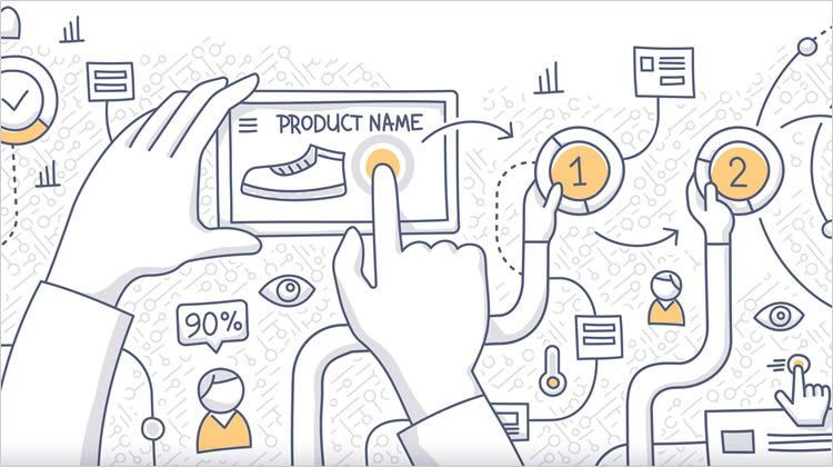 UX (User Experience) comes before UI (User Interface) since UX - website storyboard