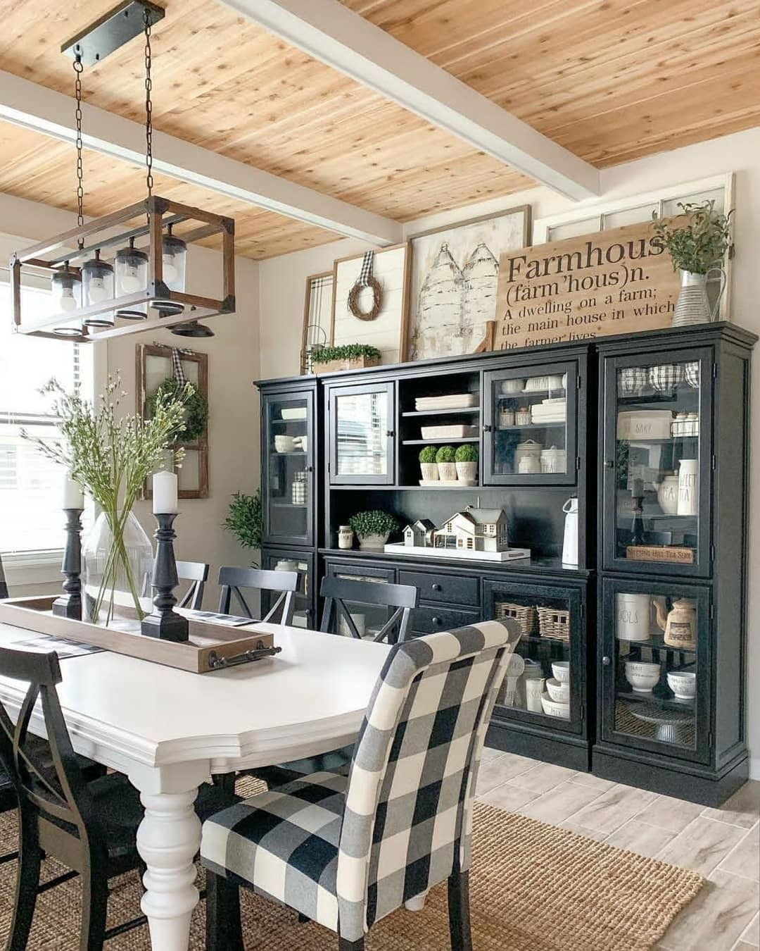 Kitchen Inspiration // Driftwood Decor Furniture The