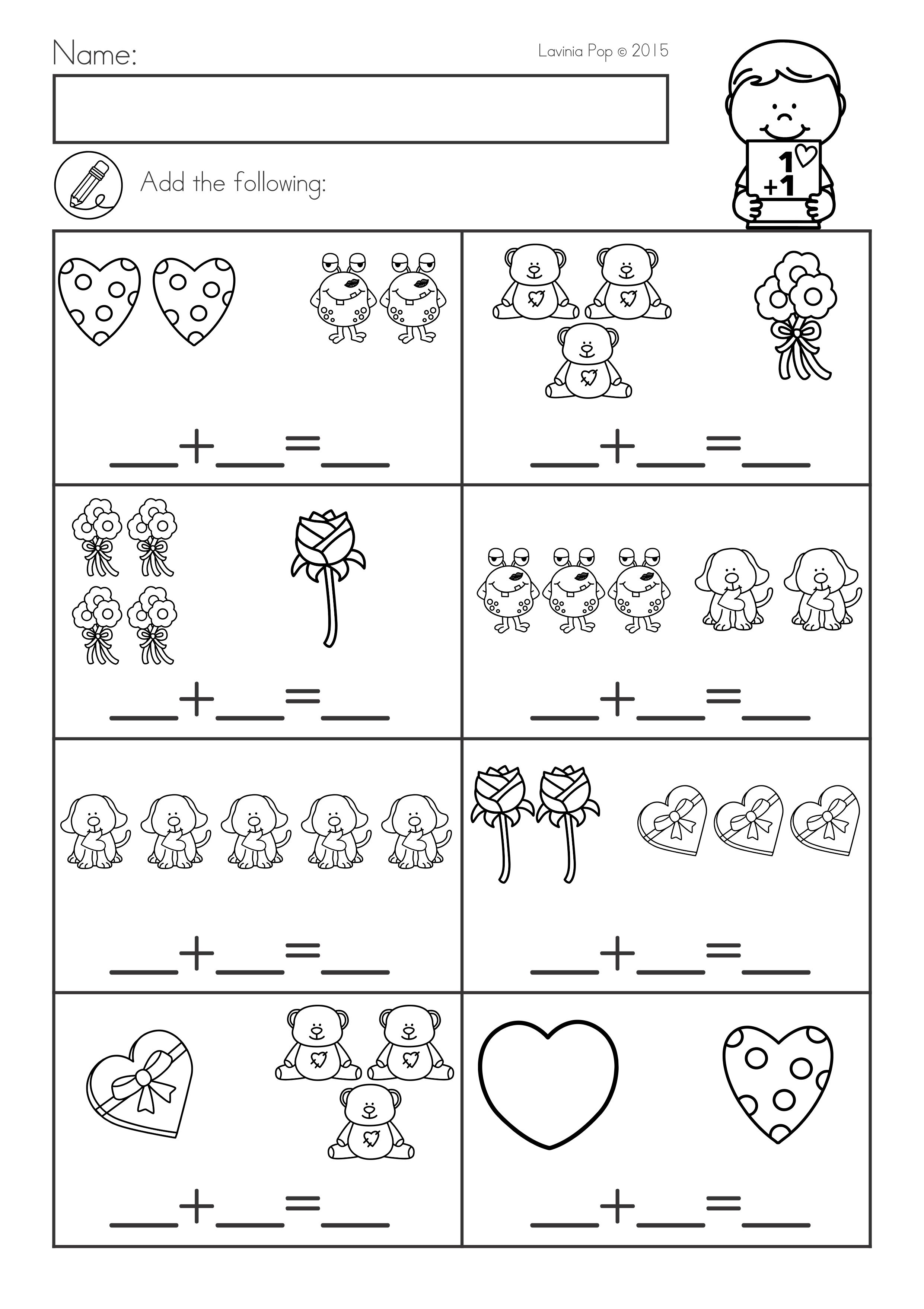 Valentine S Day Math Amp Literacy Worksheets Amp Activities No Prep