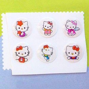 #boutonhome #apple #iphone #ipad #ipod #homebuttonsticker #hellokitty Sticker Hello Kitty pour Bouton Home iPhone iPad iPod