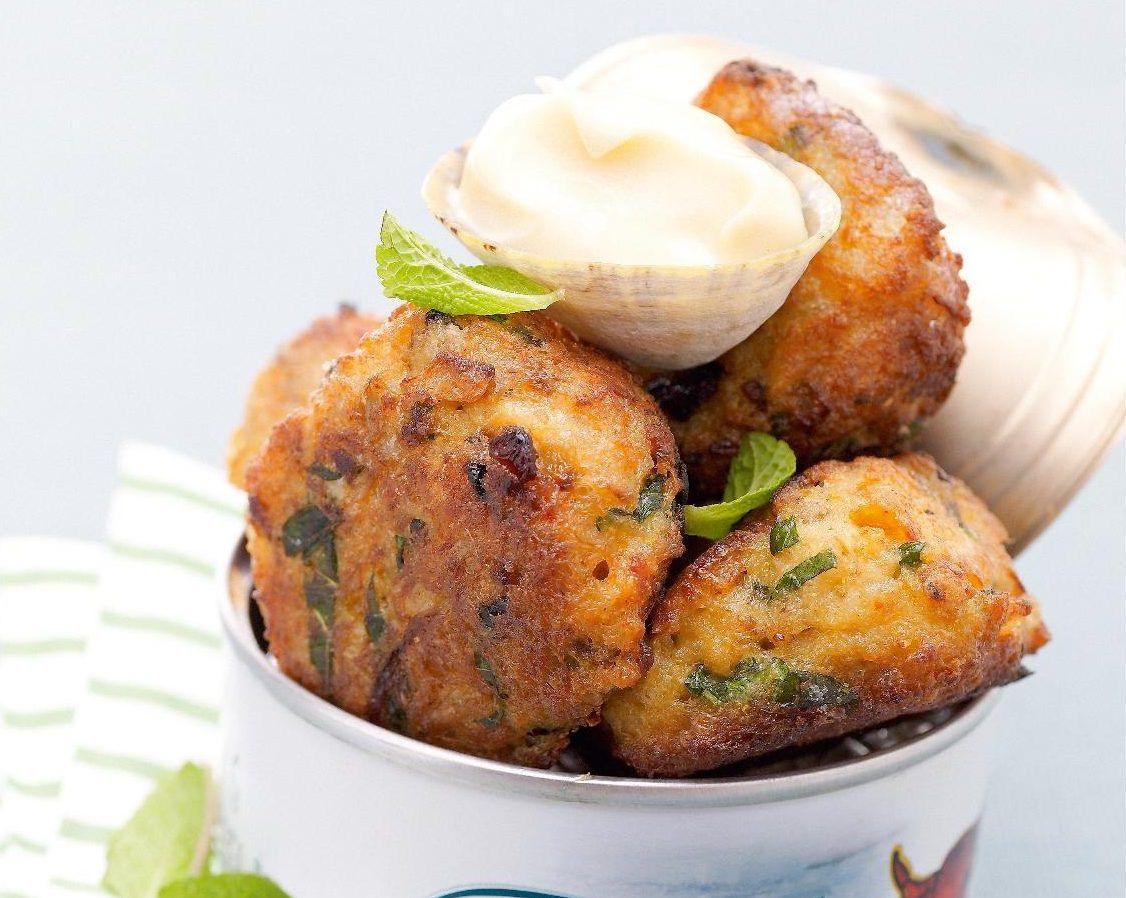 Ma recette de crabcakes à la menthe - Laurent Mariotte ...