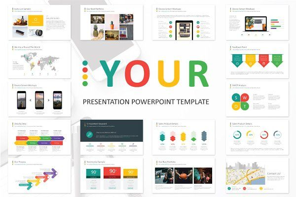 Personal CV Powerpoint Template by Ryanda on @creativemarket - resume powerpoint template