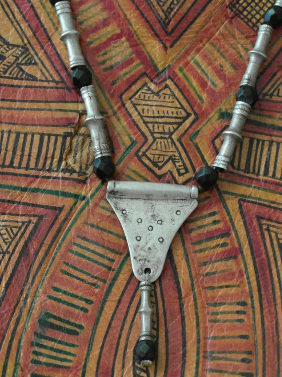 Antique necklace of Tuareg nomads Africa coins by ExclusiveFinds
