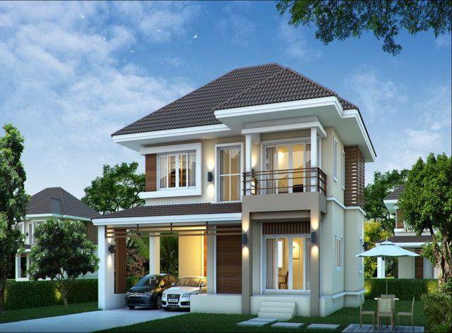 14 Ravishing Front Elevation Ideas 2 Two Story House Design House Design Trends Small House Elevation Design