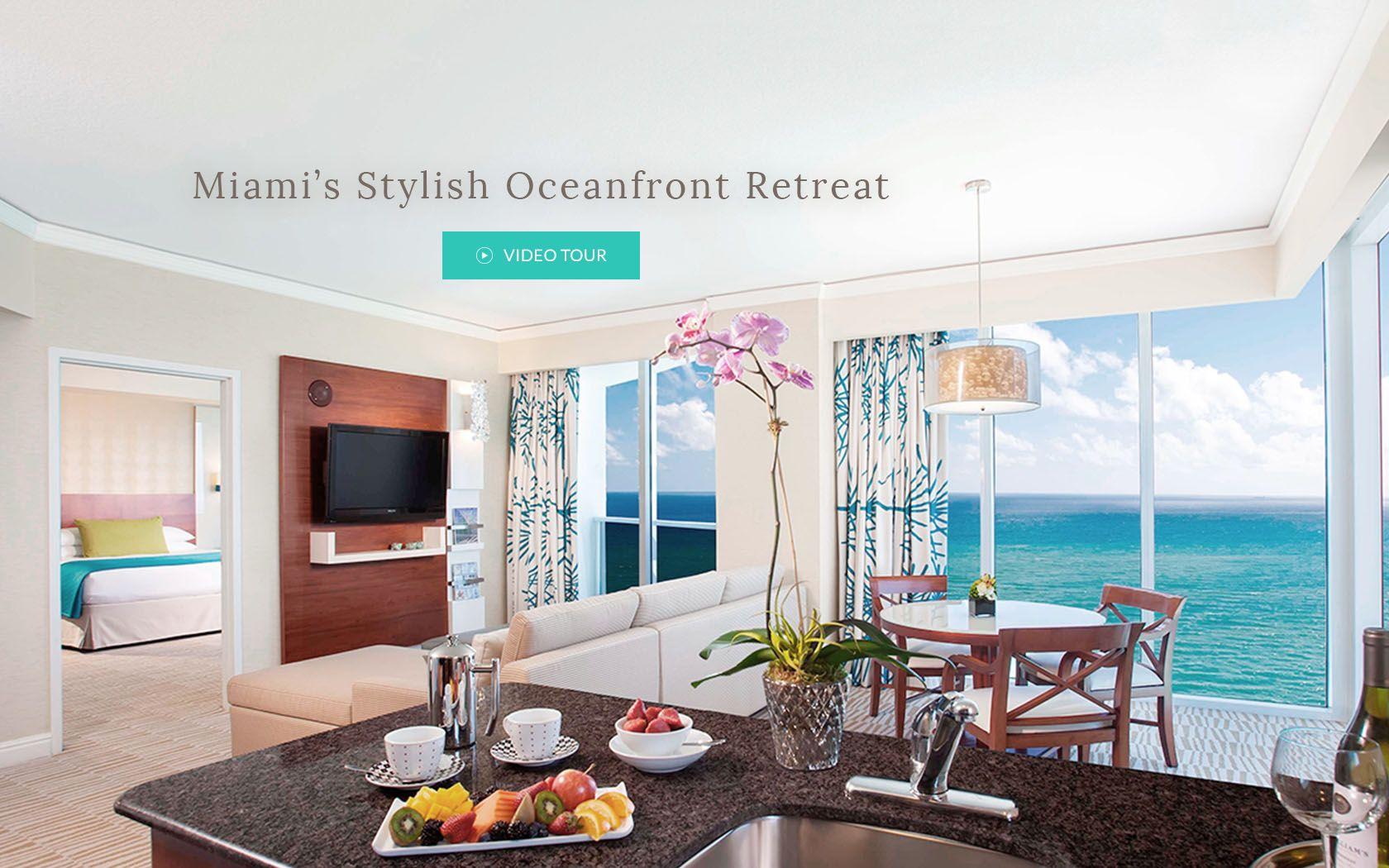Trump Miami A Miami Hotel Where Lifestyle Meets Luxury Bedroom Suite Suites Condos For Sale