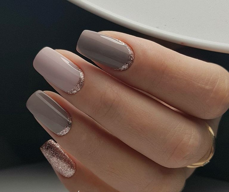 40+ Beautiful Gliter Nail Art Design Ideas For New Year   Nails ...