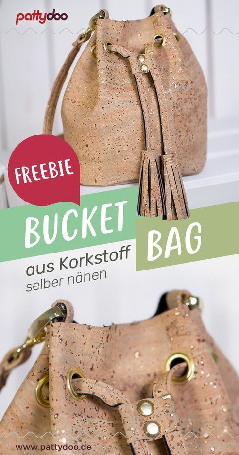 Nähanleitung Bucket Bag