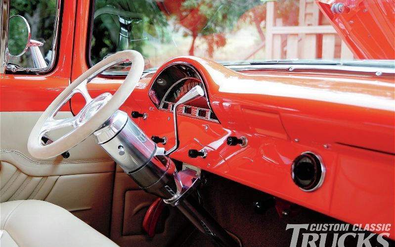 1956 Ford F 100 Steering Column Photo 8
