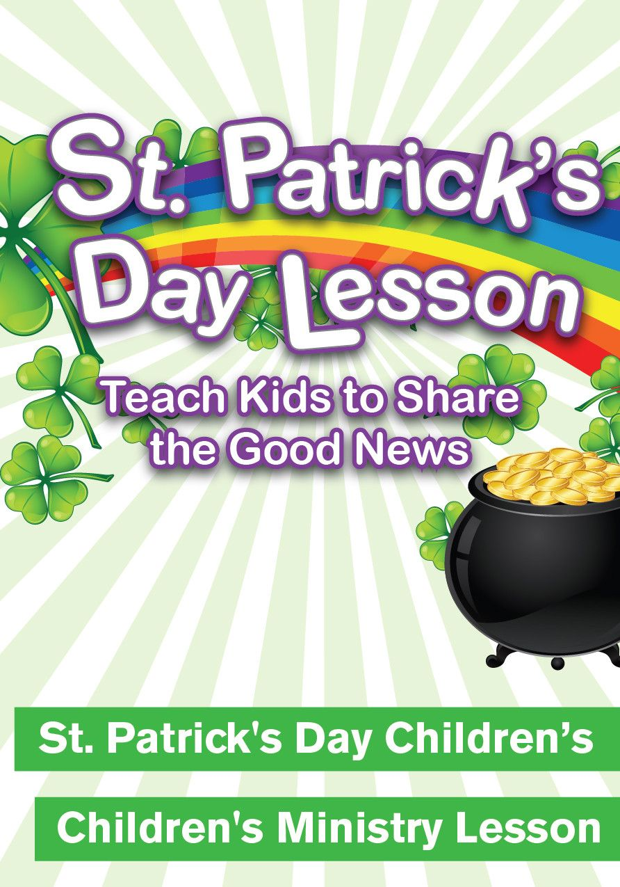 teach kids about sharing their faith with this st patrick u0027s day