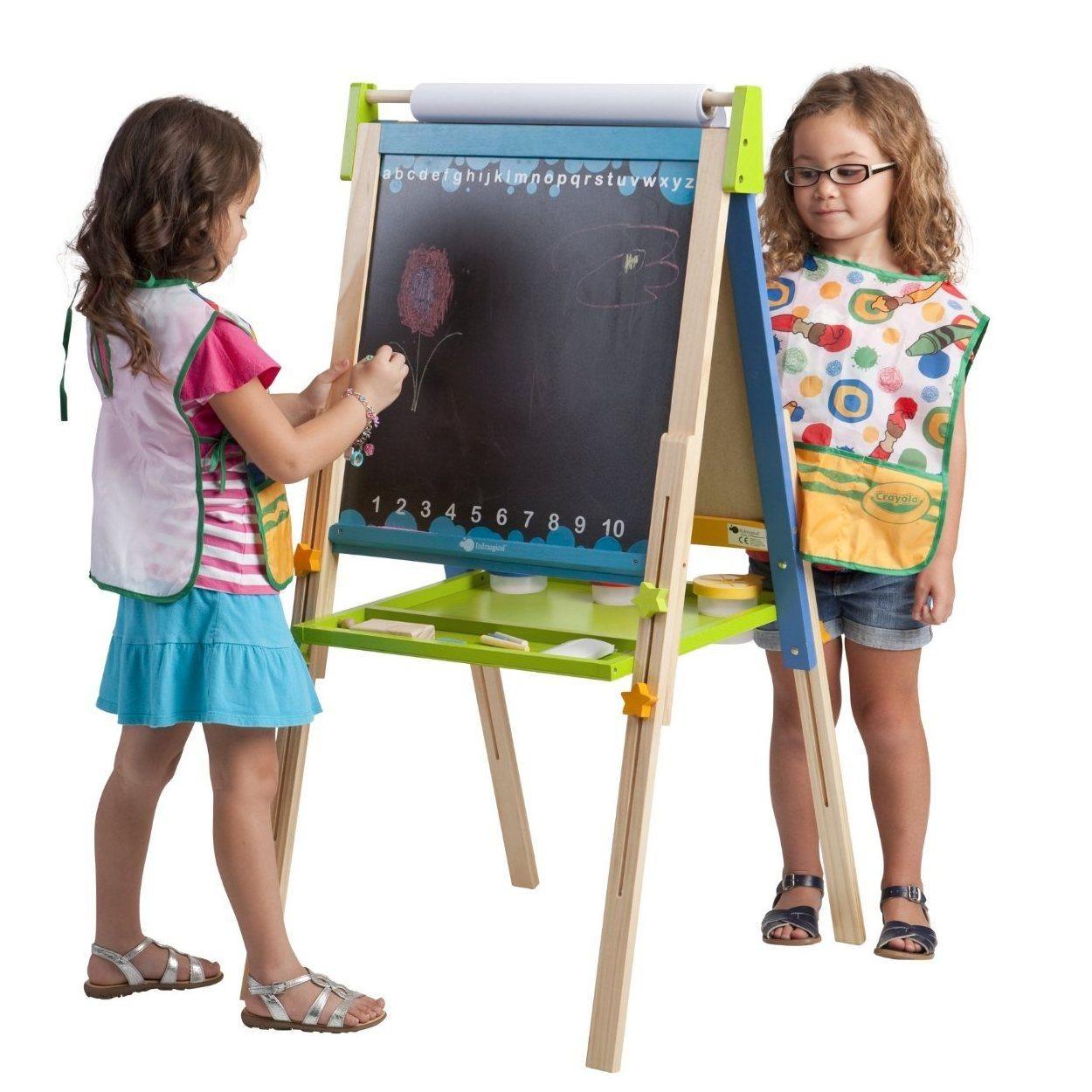 Ecr4kids 3in1 art easel toys games art