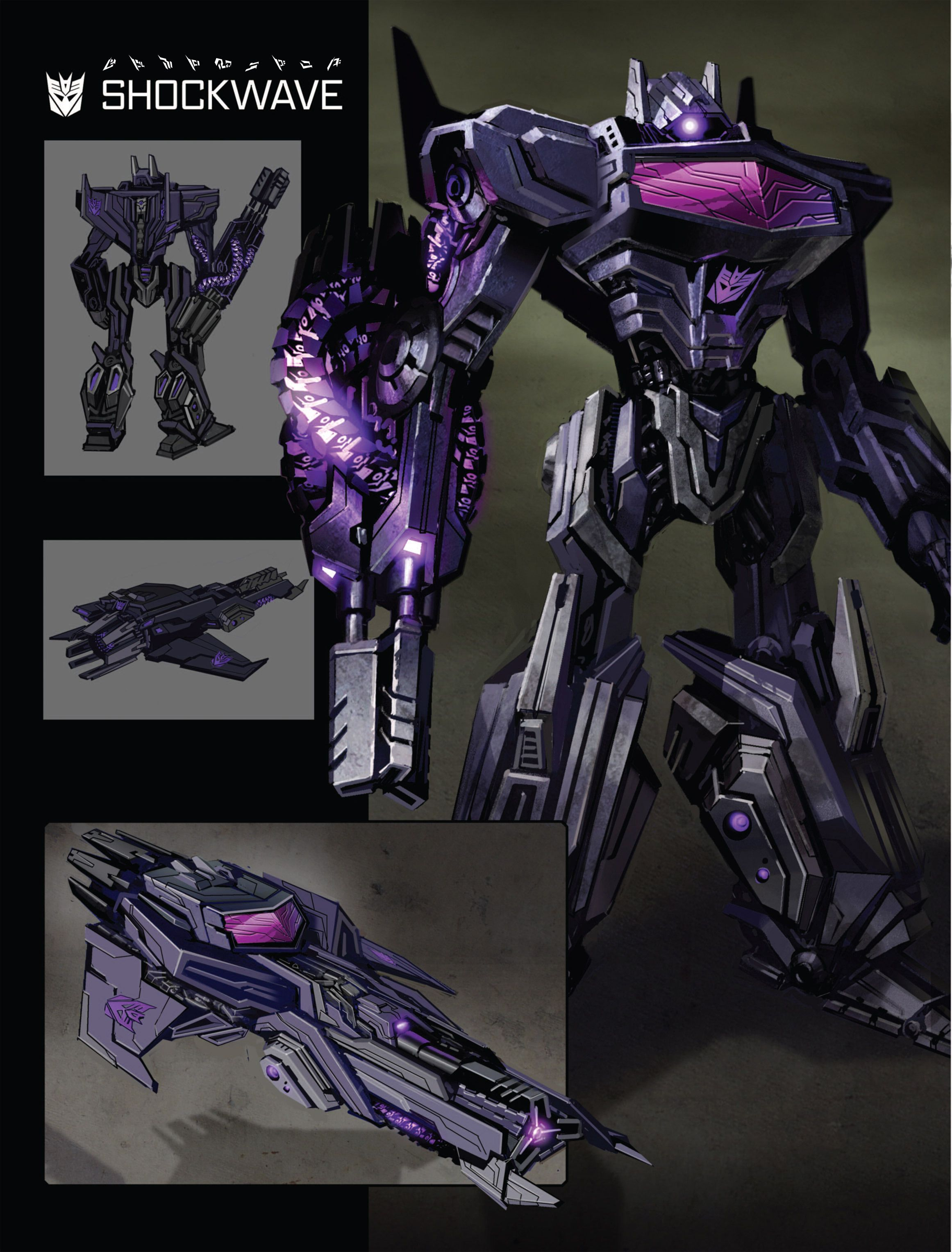 Art of Fall of Cybertron, Shockwave