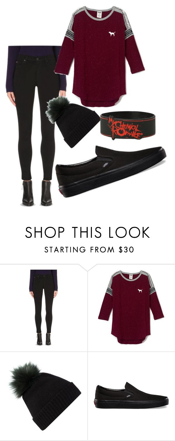 """""""Untitled #27"""" by laurensparkle44 ❤ liked on Polyvore featuring Hudson Jeans, Helen Moore and Vans"""