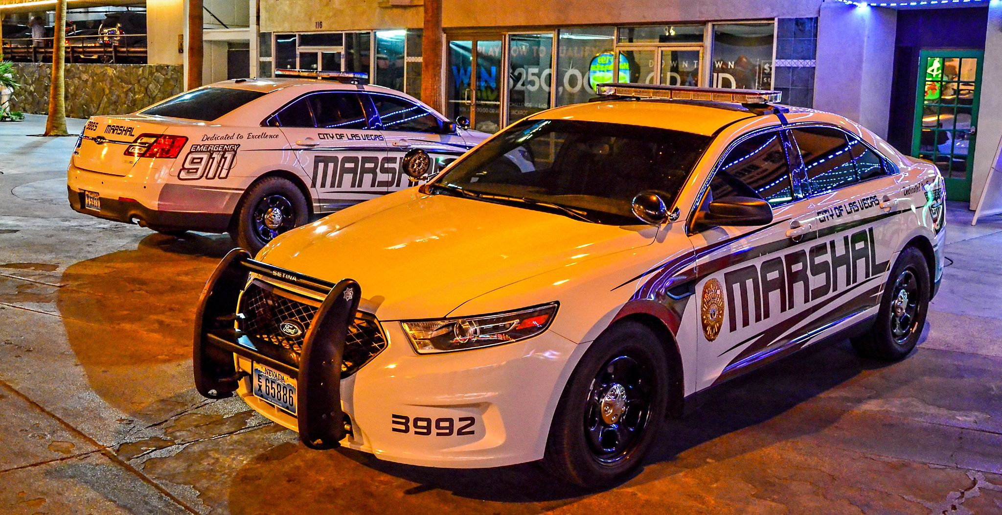 Marshal Officer Department Of Detention And Enforcement City Of Las Vegas Nevada Police Cars Las Vegas City Emergency Vehicles