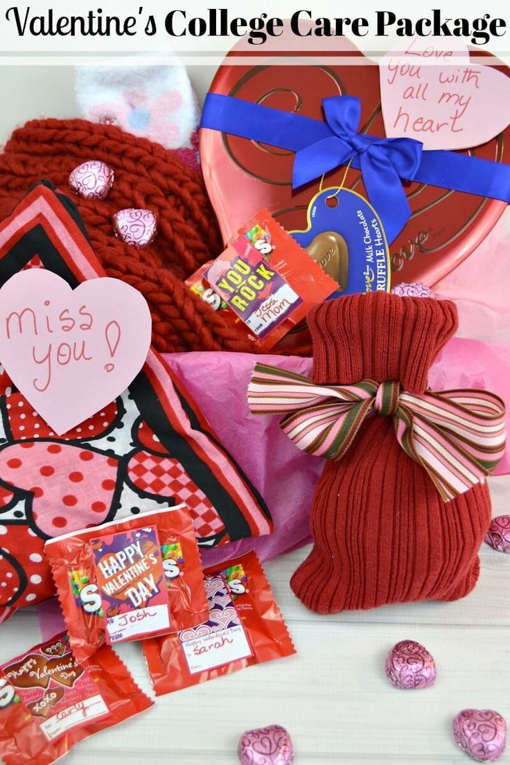 Valentines Care Packages for College Students - Organized