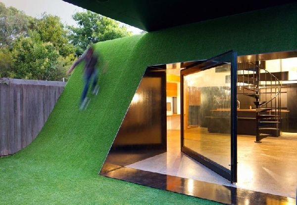 Creative hill house design in melbourne by andrew maynard architects also for the boys rh pinterest
