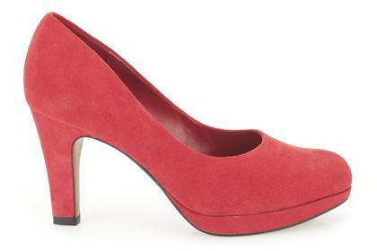 Donna Smart scarpe Crisp Kendra in from rosso Suede from in Clarks scarpe   1f29ad