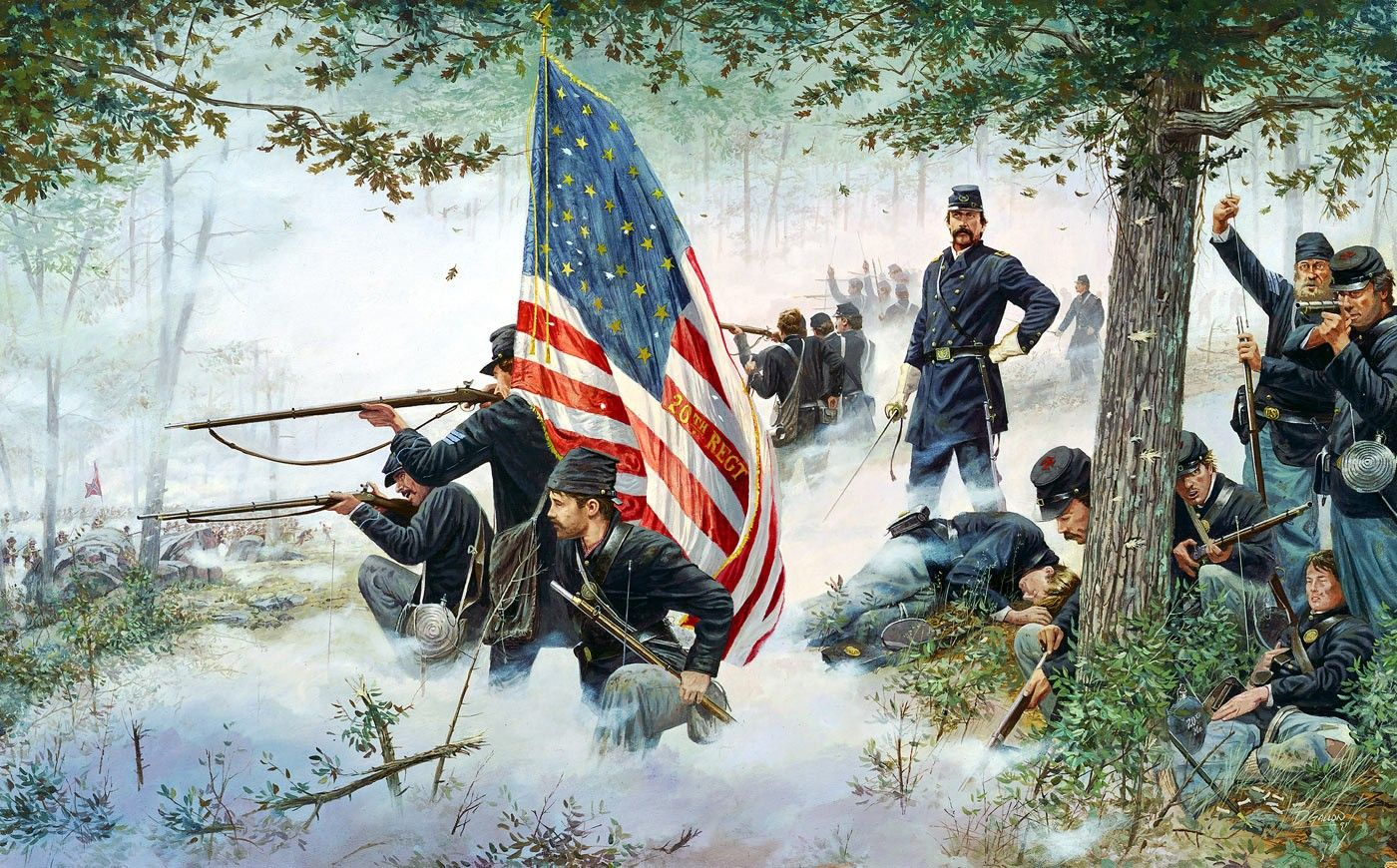 Hold at All Costs by Dale Gallon. Gettysburg, PA, July 2 ...