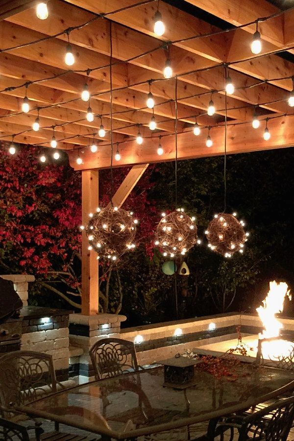 48 Awesome DIY Outdoor Lighting Designs You Can Do For Your Next Impressive Basement Lighting Design Exterior