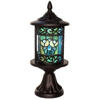 For River Of Goods Multicolor Art Gl Metal Tiffany Style Outdoor Lantern Get