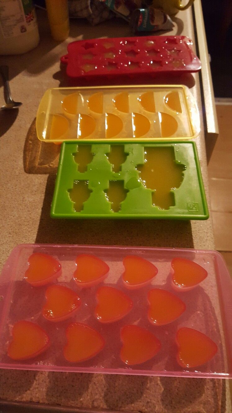 Jelly soaps in the making @...andRelax
