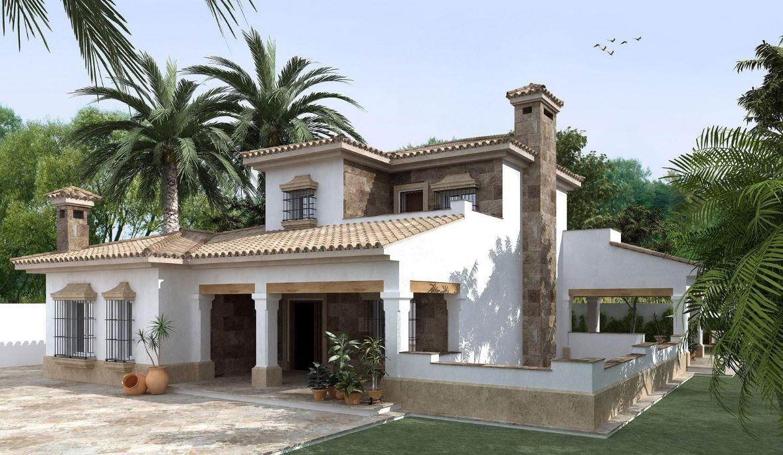 Fachadas de casas de dos pisos estilo colonial | fachadas ...