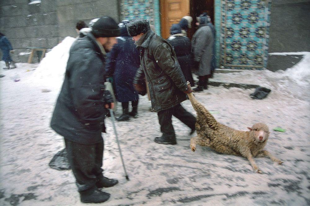 Holiday of Kurban-Bairan, St. Petersburg, 2004 - by Sergey Maximishin (1964), Russian