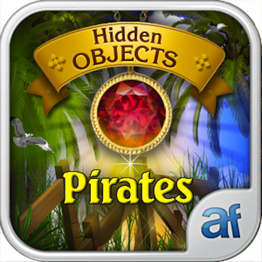 Hidden Objects Pirates & 3 puzzle games