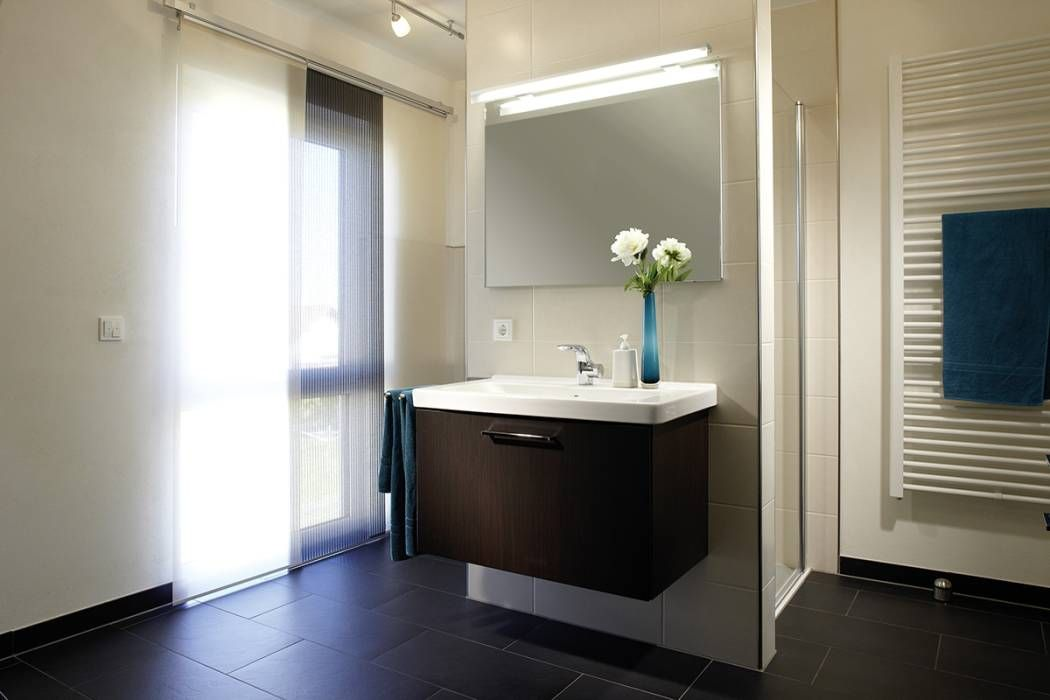 Moderne Badezimmermöbel ~ Moderne badezimmer bilder vio schöner wohnen schöner sparen