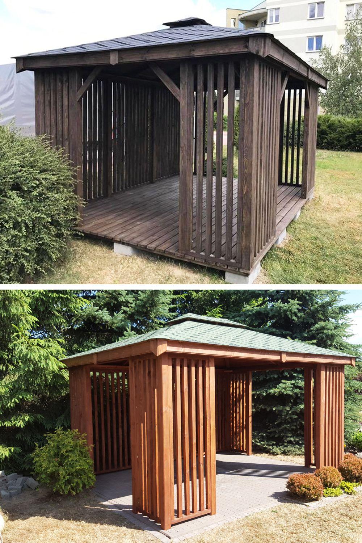 Altanka 3x4 Altanki Altana Drewniana Ogrodowa Wiat Outdoor Decor Outdoor Structures Outdoor Storage