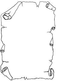 Risultati Immagini Per Sagoma Della Pergamena Da Stampare Study