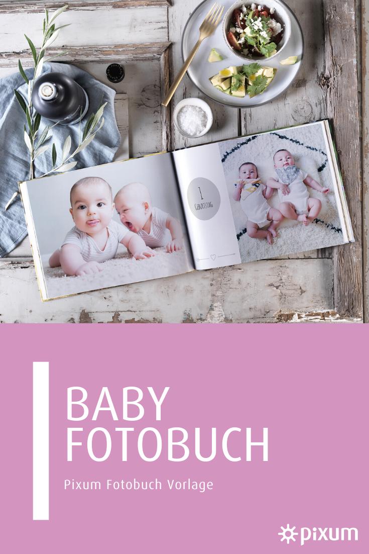 Mit Der Vorlage Fur Dein Pixum Baby Fotobuch Kannst Du Schnell Und Einfach Dein Fotoalbum Mit Den Schonsten Erinnerungen Gestalte In 2020 Fotobuch Fotobuch Baby Bucher