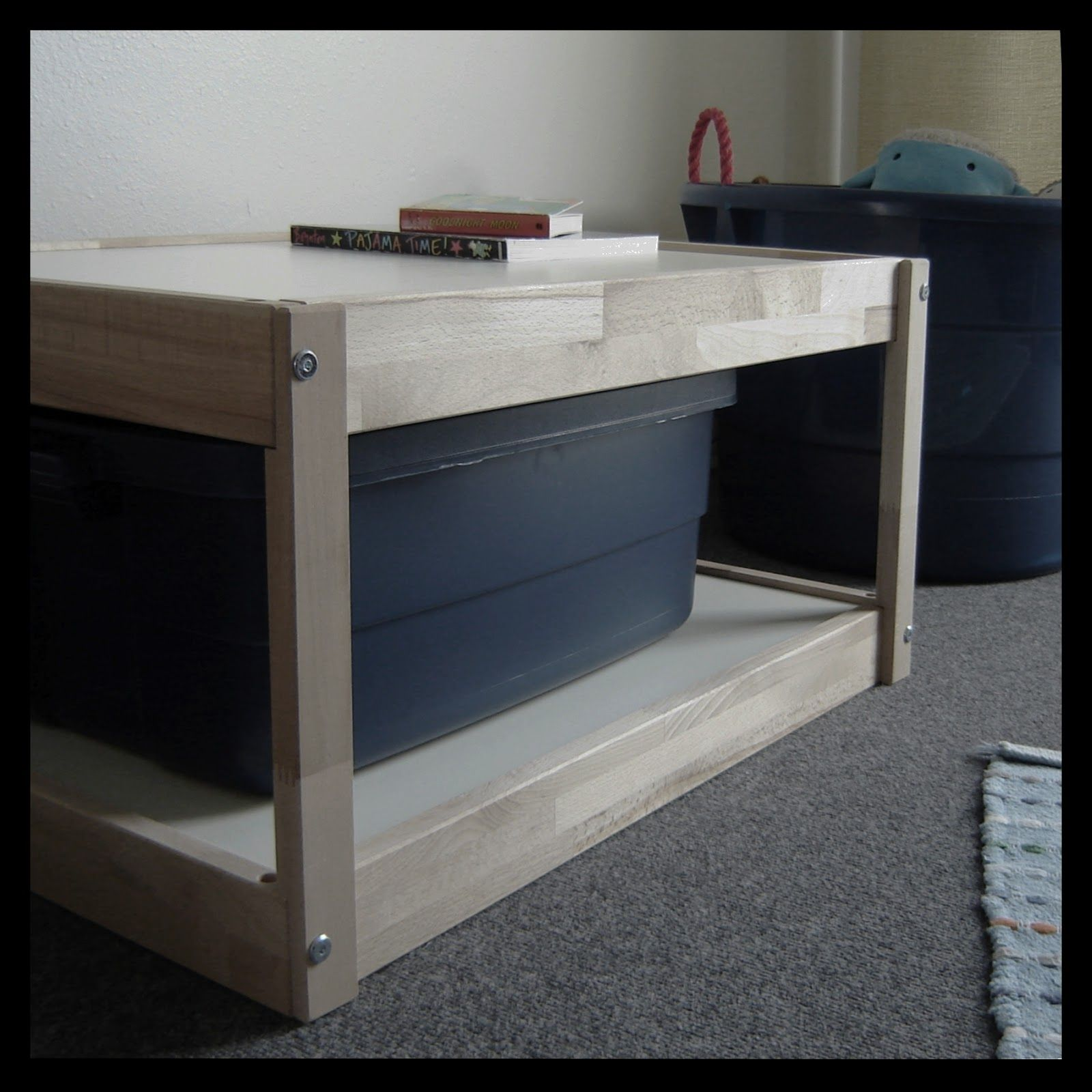 Mini Table A Langer ikea changing table hack - redux | wickeltisch ikea