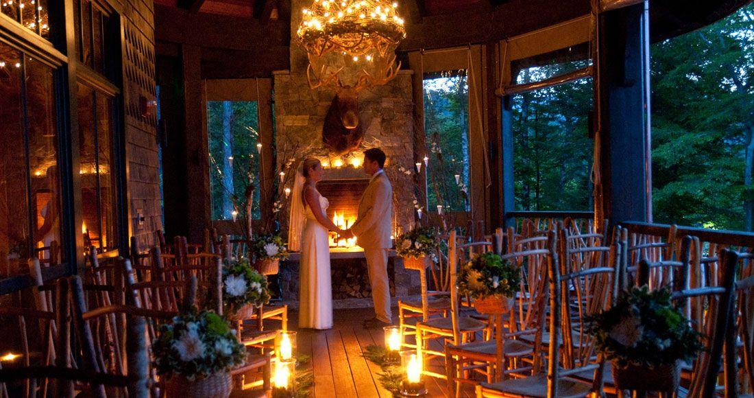 Adirondacks wedding venue lake placid lodge