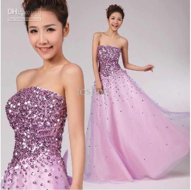 Pink Purple Dresses