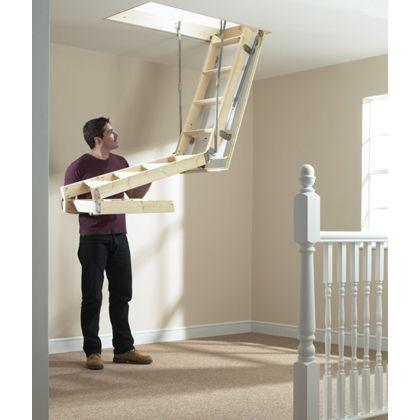 Werner Pro Timber Loft Access Kit Loft Hatch And Ladder