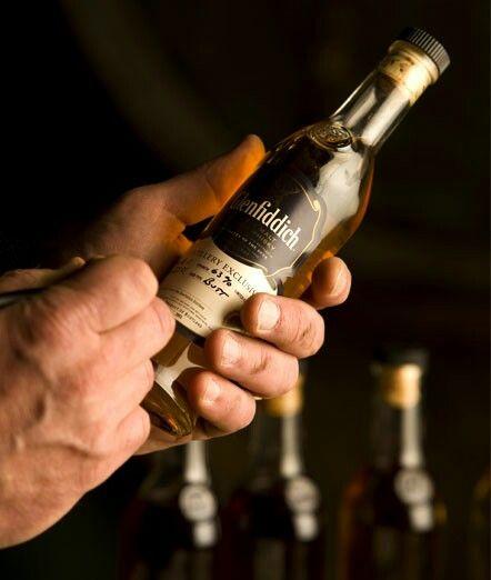 Glenfiddich tasting after maturity