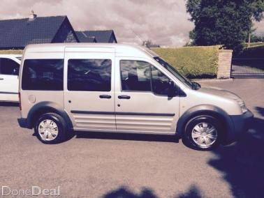 Ford Transit Connect 8 Seater 2 Yrs Nct 1 8 Tdci Ford Transit