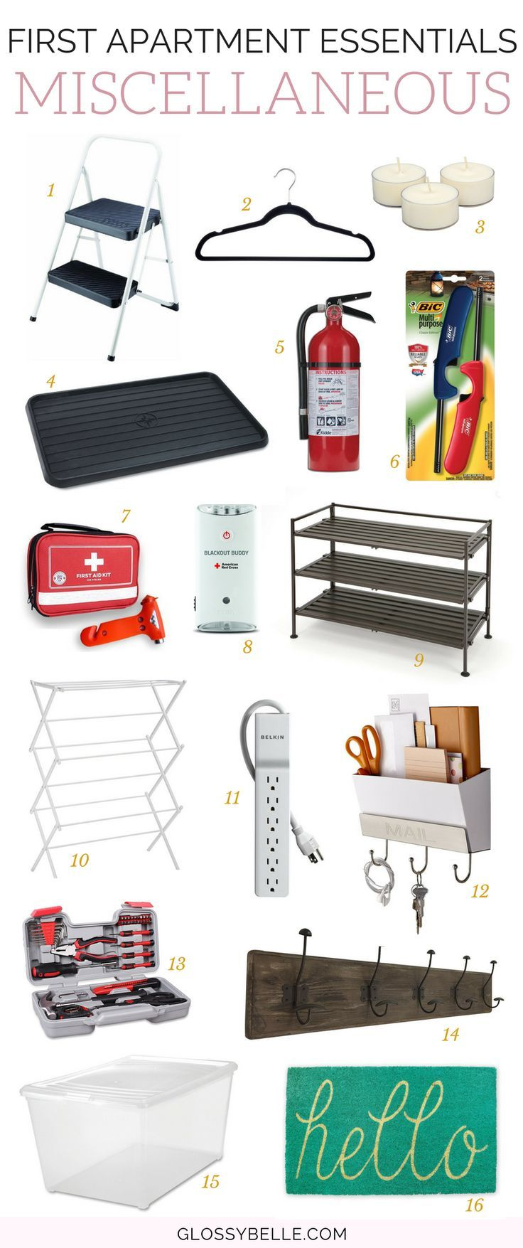The Ultimate Guide: First Apartment Essentials | Apartment ...