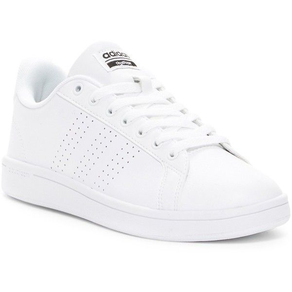 best sneakers 7c164 85352 adidas Cloudfoam Advantage Sneaker ( 45) ❤ liked on Polyvore featuring shoes,  sneakers, laced sneakers, perforated sneakers, perforated shoes, ...