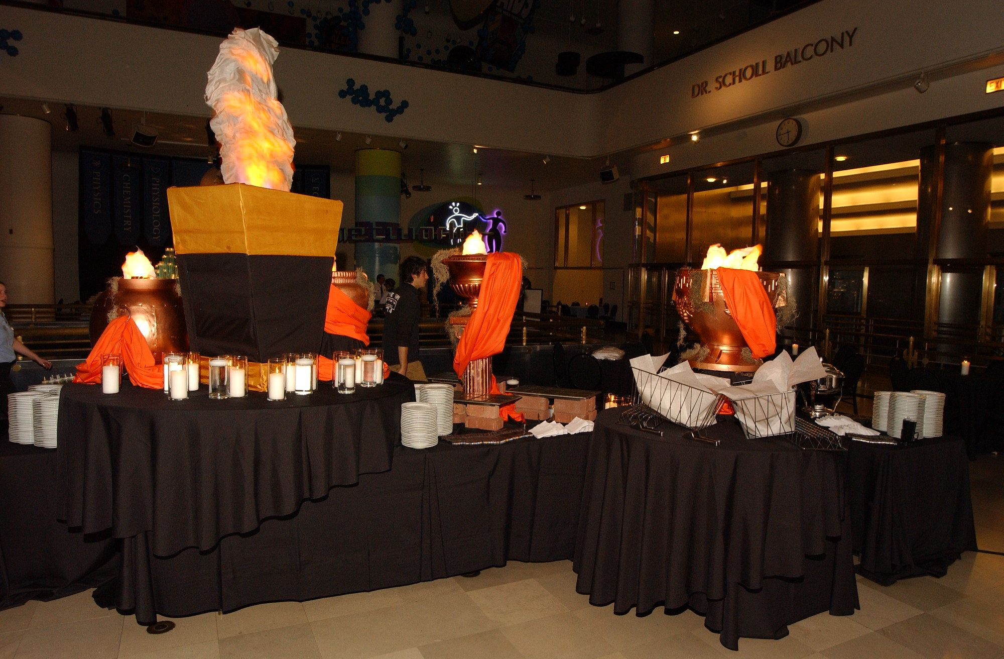 Corporate Family Event - An Evening of Exploration - Realm of Fire