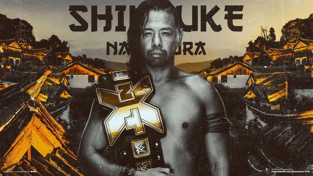 WWE NXT Shinsuke Nakamura Wallpaper By Phenomenon Desdeviantart On