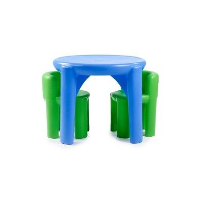 Little Tikes Bright N Bold Table Chairs Multi Colored Table