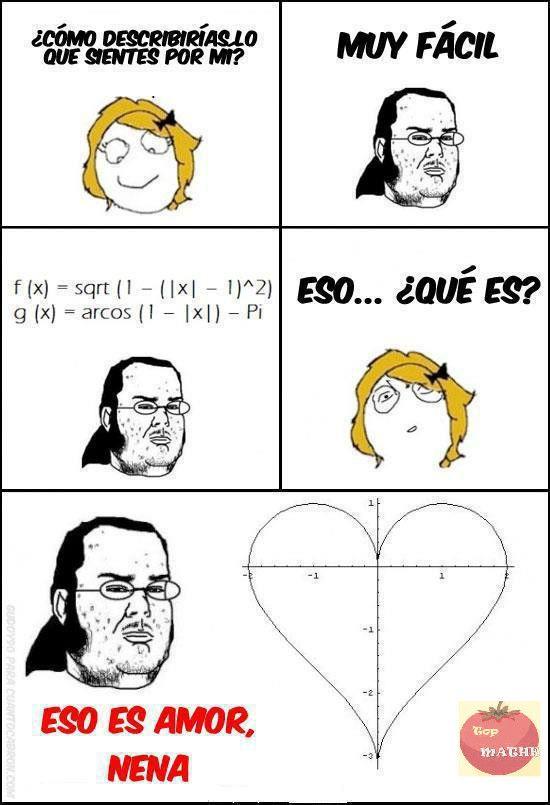 Amor Matematico Romantic Jokes Nerd Love How Are You Feeling