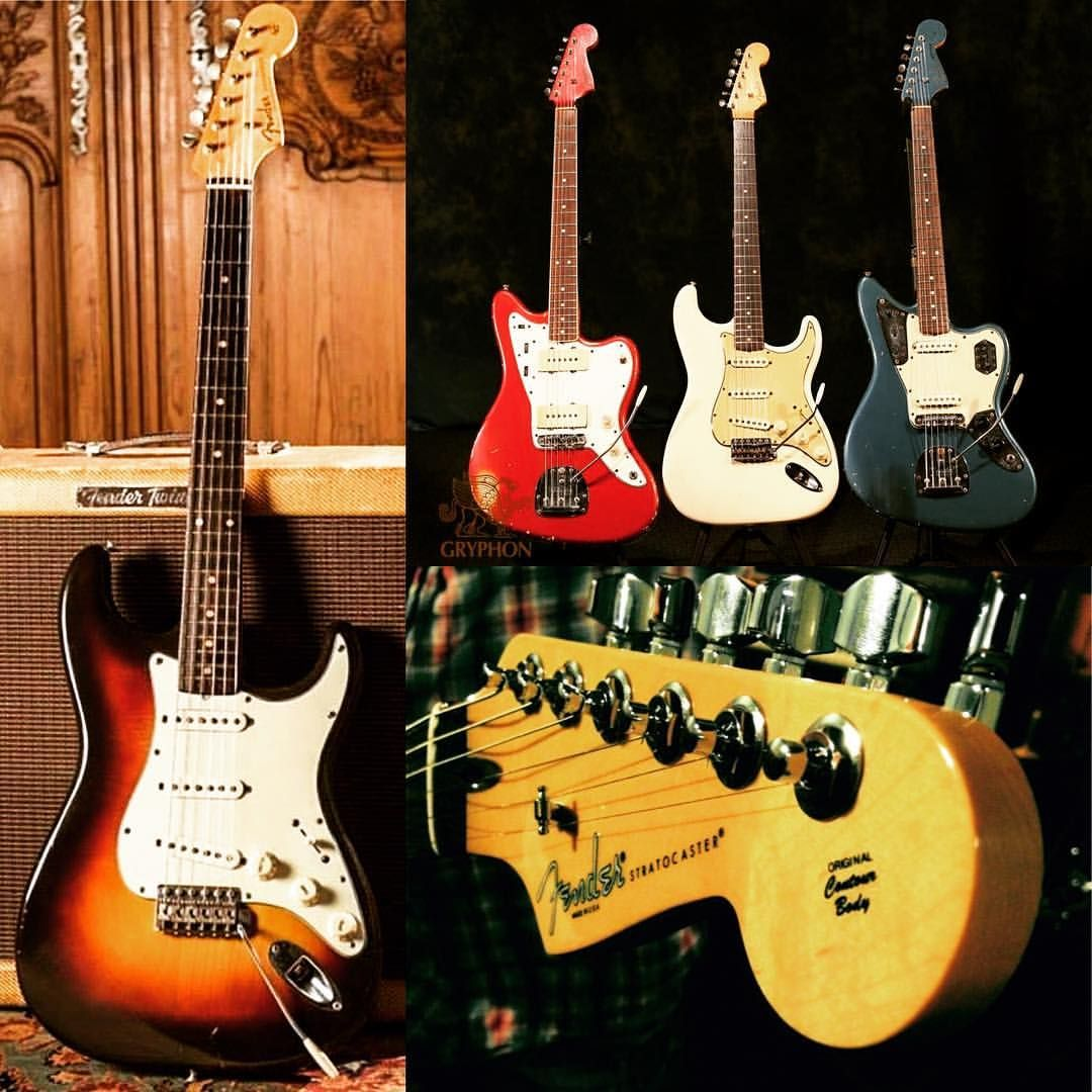 Happy Fender Friday everyone! #fenderfriday #fenderguitars #fender #fenderstratocaster #stratocaster #strat #fenderjazzmaster #fenderjaguar #electricguitar #guitar @fender_official__