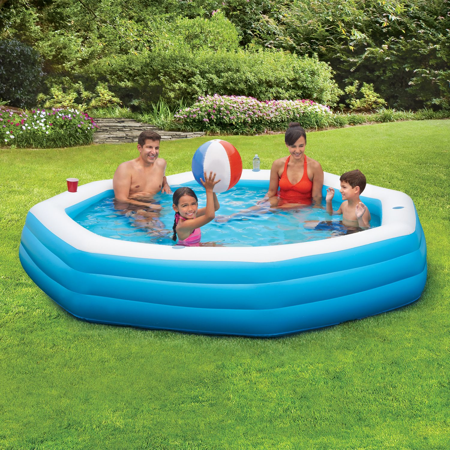 Toys Family Swimming Pool Summer Waves