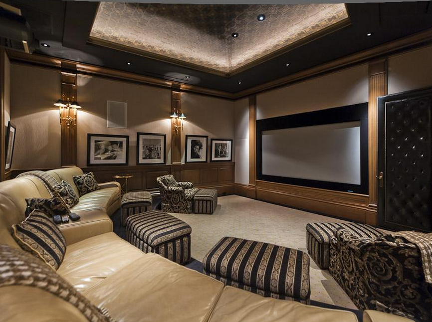 Home Cinema - complementary fabrics, wall art